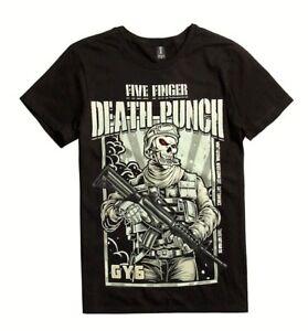 Five-Finger-Death-Punch-5FDP-GOT-YOUR-SIX-T-Shirt-NEW-Authentic-amp-Official