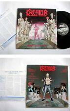 KREATOR - Terrible Certainty KOREA 8 Tracks LP W/Korean Insert