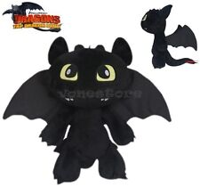 How to Train Your Dragon Toothless Night Fury Stuffed Animal Plush Toy Doll 20CM