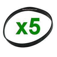 5 Flat Belts Fits Simplicity Upright Vacuum Cleaner