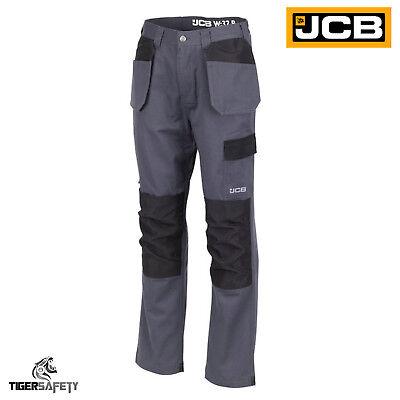 Besorgt Jcb Essential Plus Grey Cargo Combat Multi Pocket Holster Pocket Trousers Pants GroßE Auswahl;