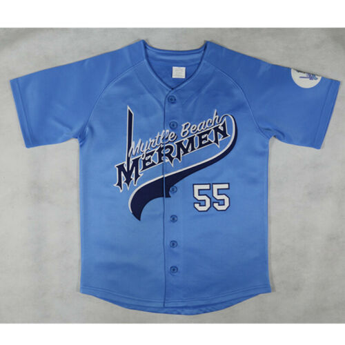 #55 Kenny Powers Jersey Eastbound and Down Mexican Charros Jersey All Stitched