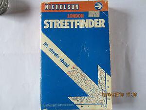 NICHOLSON LONDON STREETFINDER - East Sussex, United Kingdom - NICHOLSON LONDON STREETFINDER - East Sussex, United Kingdom