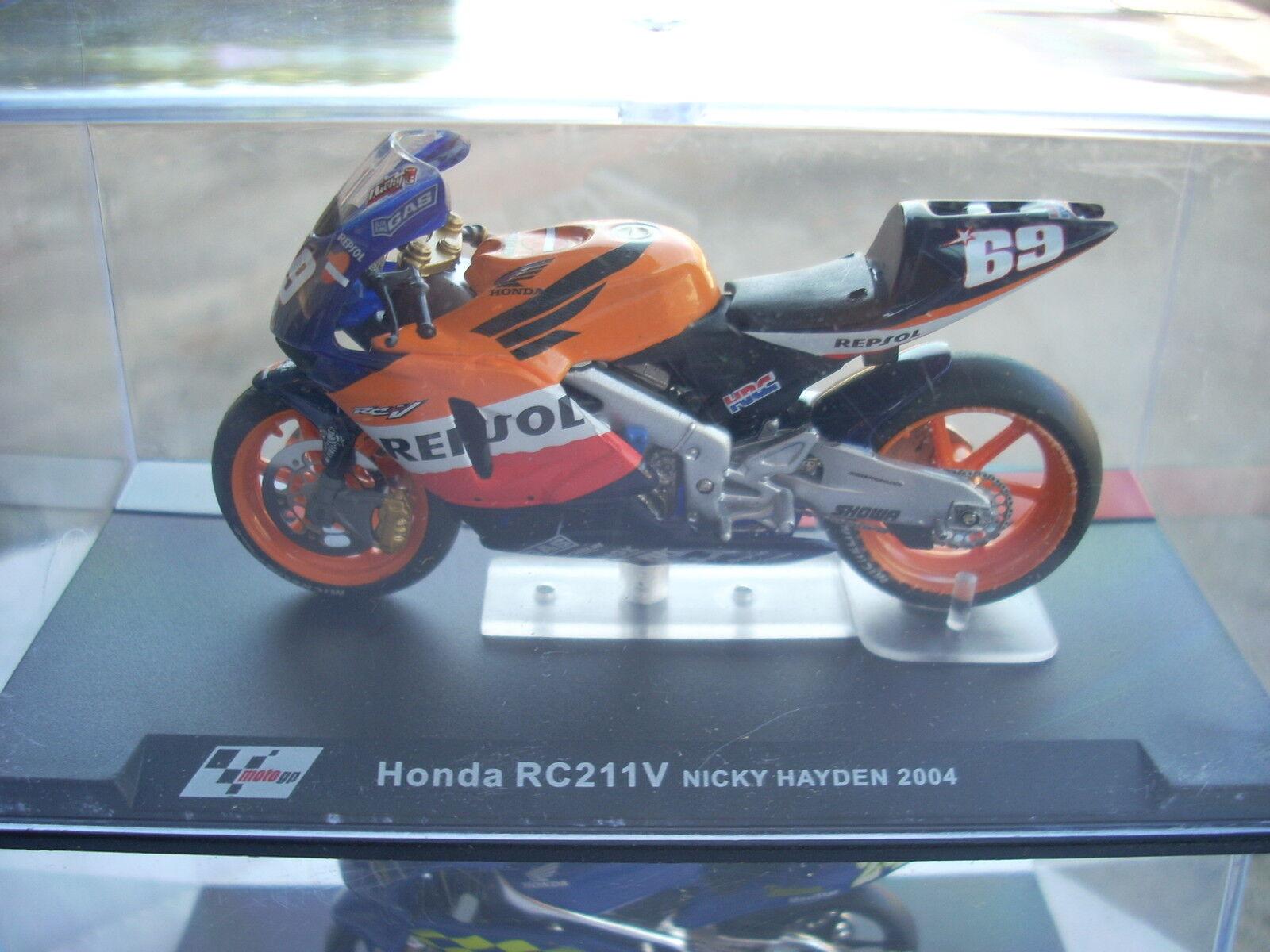 HONDA RC211V NICKY HAYDEN 2004 scala 1\24