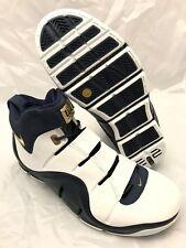 NEW DS Nike Zoom LeBron IV (4) West Coast Navy Gold 2006 Size 11 Mens 314647 111