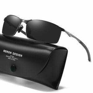 Aluminium-HD-Polarized-Photochromic-Sunglasses-Men-Chameleon-Driving-Glasses-New