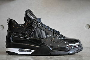 low priced ac13a e4c2a Image is loading Nike-Air-Jordan-11LAB4-Black-2015-Black-White