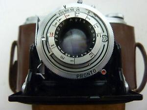 "Agfa Isolette Kamera Klappkamera alt ""Original"" Tasche Fotoapparat Klappkameras"