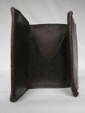 NEW Ralph Lauren RRL Collection Dark Brown Trifold Leather Wallet RRP £195