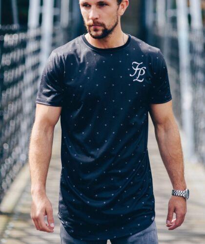 Men/'s Fashion T-Shirt-Musica Design taglia S-girocollo manica corta taglio lungo