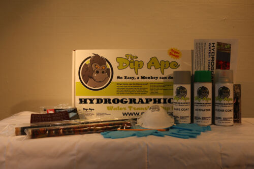 THORN DIGITAL DIP APE HYDROGRAPHIC WATER TRANSFER HYDRO DIP KIT