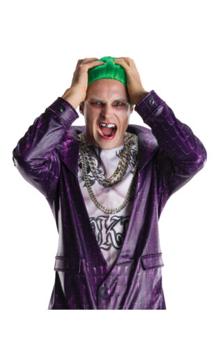 Adult DELUXE THE JOKER Suicide Squad DC Fancy Dress Mens Halloween Official Kit