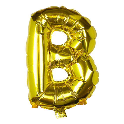 "Foil BALLOON /""Garland/"" LETTER /""A/"" Gold 41 cmluftballons Balloons Wedding"