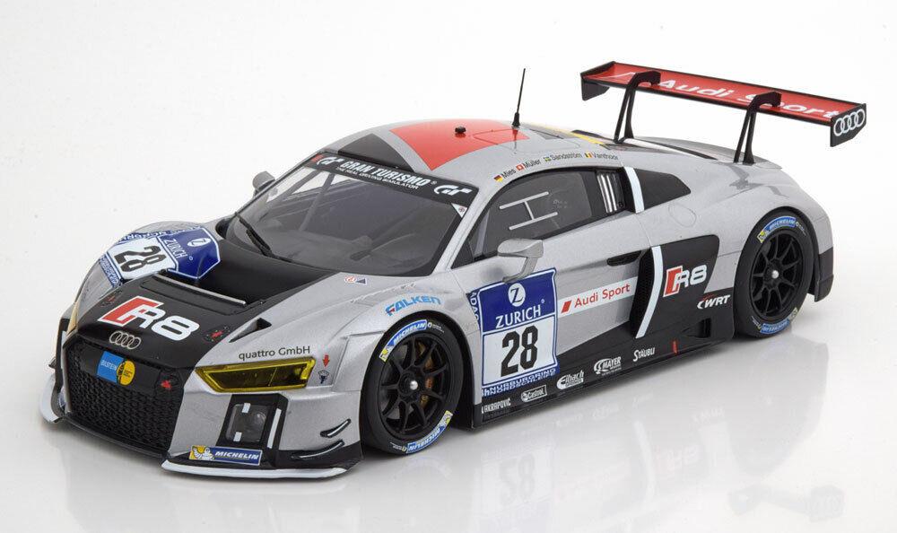 1 18 Minichamps Audi R8 LMS Ultra Winner 24h Nürburgring 2015