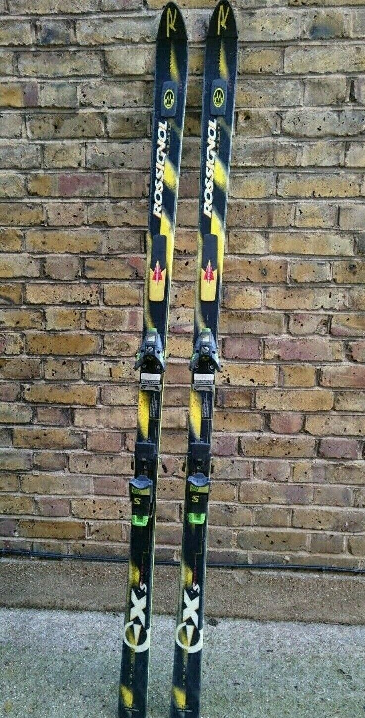 ROSSIGNOL COURSE EX'S EXCESS 188 SALOMON 777 BINDINGS Tasche