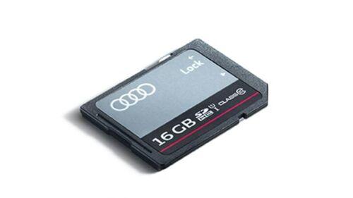 Audi originales almacén de datos-SDHC tarjeta de memoria de 16 gb 8r0063827h tarjeta SD