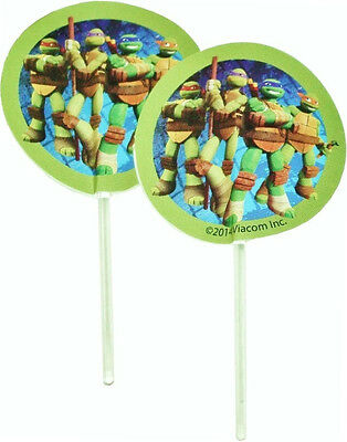 Teenage Mutant Ninja Turtles Party Fun Pix 24 Count
