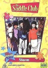 The Saddle Club - STORM (DVD) Region 4 - Kids G Rated -  ORIGINAL