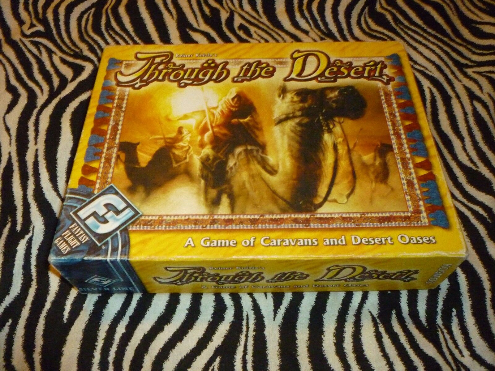 Through The Desert Board Game - Used But Complete - Very Good Condition