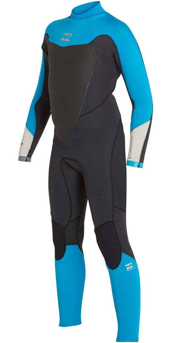 BILLABONG KIDS ABSOLUTE COMP 4 3 WETSUIT blueE