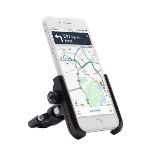 Aluminum Motorcycle Bike Bicycle MTB Handlebar Mount Holder For Cell Phone GPS