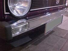 Golf 1 Stoßstange Chrom Stoßleiste 16V G60 VR6 Retro ohne Löcher Caddy MK1