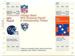 Rare-1984-85-Chicago-Bears-NFC-Playoff-Championship-Ticket-Proof-Sheet