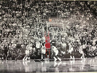 Michael Jordan Last Shot Vs Jazz Basketball Player Iconic Mj Nba Athlete Sports
