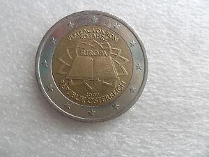 2 Euro Gedenk Münze 2007 50 Jahre Europa Vertrag Von Rom