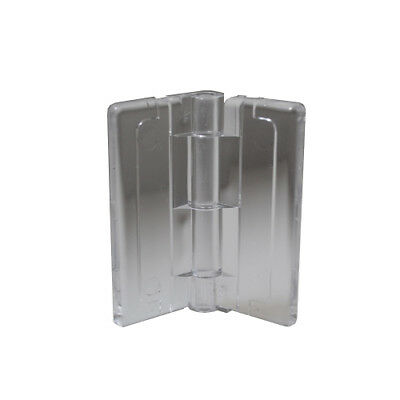 "6 Pack Small Acrylic Plastic Hinge 1-1//2/"" X 1-3//8/"""