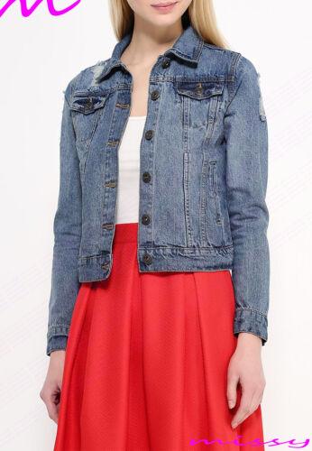 En 8 Veste Plus Womens Har Taille Gilet Femmes Jeans Court 24 Nouveaux fqxwItw