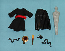 vintage Indiana Jones ROTLA WEAPONS ACCESSORIES PARTS LOT #5 snakes mummy torch