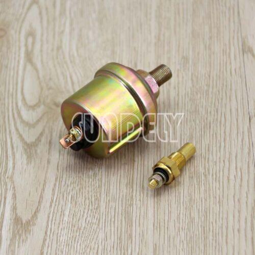 """2/""""//52mm Triple Gauge Kit 3in1 VoltMeter Meter Water Temp Oil Pressure Car Meter"""