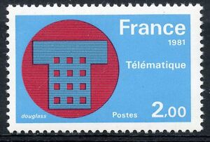 STAMP-TIMBRE-FRANCE-NEUF-N-2130-TELEMATIQUE