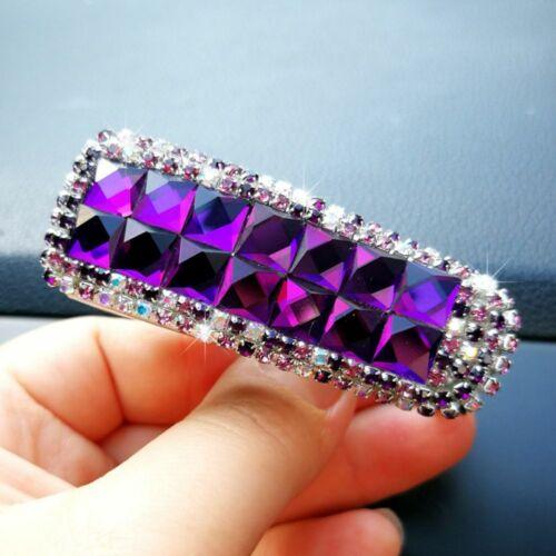 Crystal Car Sun Visor Sunglasses Folder Ticket Receipt Card Clip Storage Holder