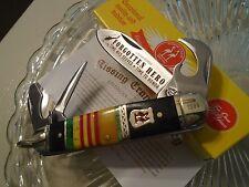 Kissing Crane Limited Vietnam Hero Scout Hobo 4 Blade Pocket Knife Bottle Opener