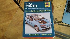 fiat punto 99 03 petrol dynamic speedgear sohc dohc haynes manual rh ebay co uk 2004 Fiat Punto Fiat Bravo