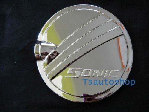 FOR CHEVROLET SONIC 2012 4DOOR SEDAN CHROME OIL FUEL CAP COVER V.3 S//G