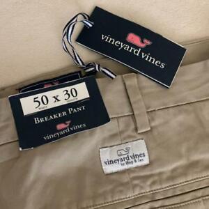 Vineyard Vines Interruptor Pantalon Pantalones De Color Caqui Hombre 50 X 30 Nuevo Con Etiquetas 99 Ebay