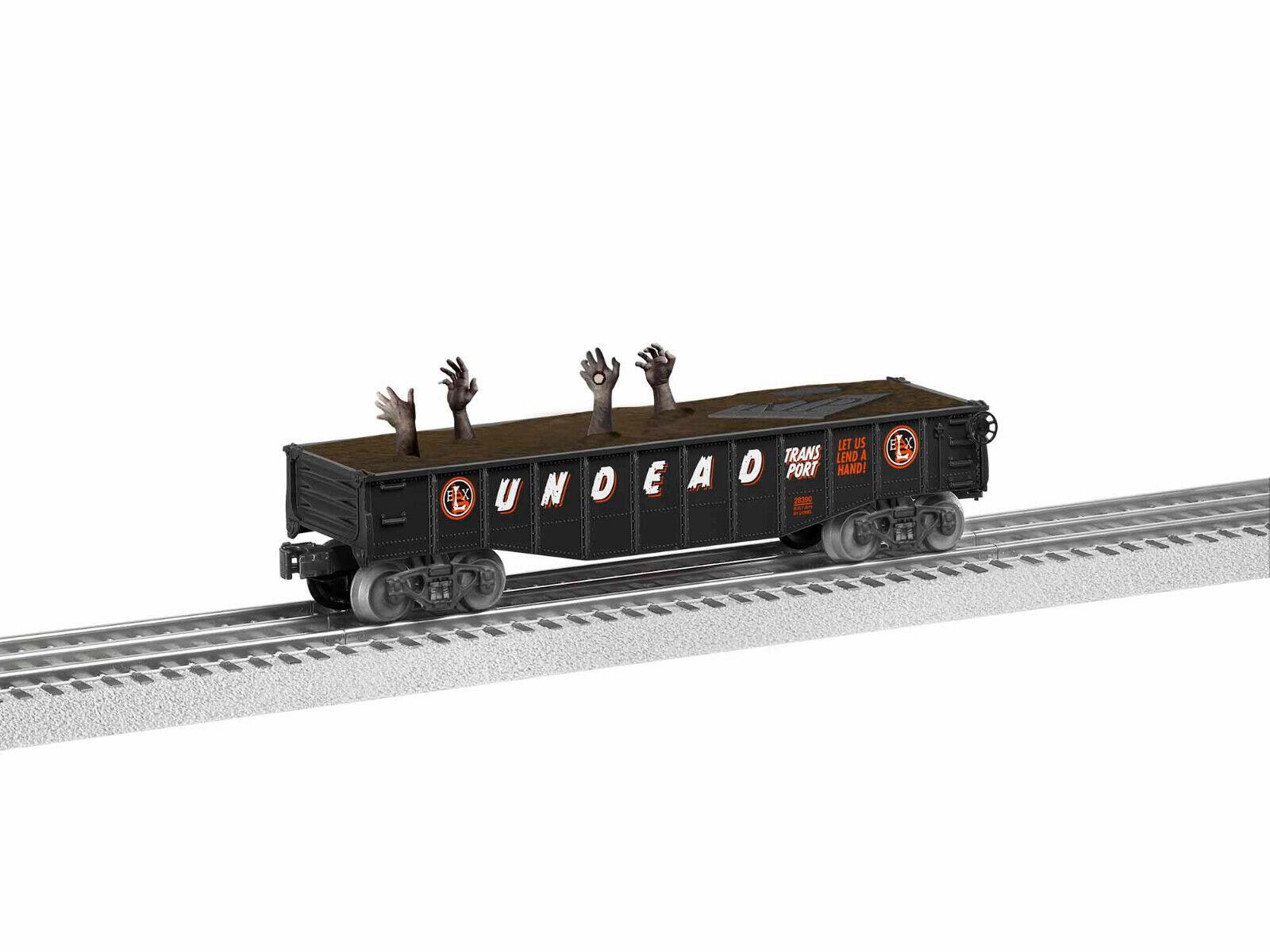 LIONEL  1928380 TRICK OR TREAT HtuttiOWEEN suonoS scatolaauto