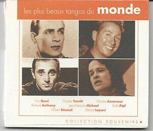 Sealed-CD-Album-Les-Plus-Beaux-Tangos-du-Monde-Collection-Souvenirs-Piaf