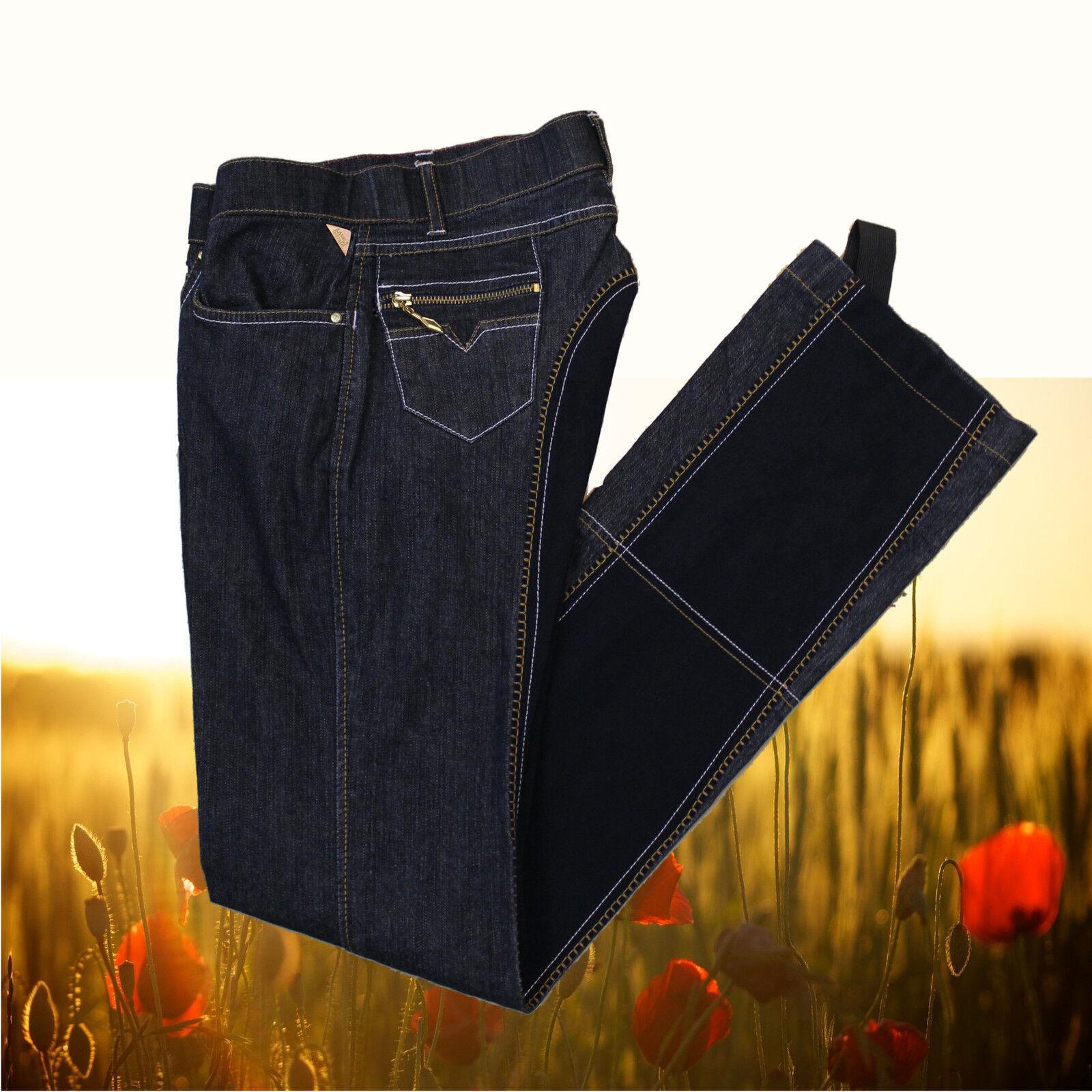 Lauria Garrelli Kinder Jodhpur Reithose Jeans, Kids Ganzbesatz Jodhpurreithose Ganzbesatz Kids aadcfe