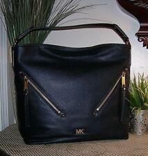 9241b37b997b item 3 MICHAEL-Michael Kors Evie Large Hobo Bag Pebbled Leather Shoulder Bag  Navy new -MICHAEL-Michael Kors Evie Large Hobo Bag Pebbled Leather Shoulder  Bag ...