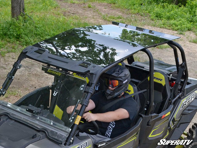Super Atv Polaris Rzr 4 900 1000 Tinted Roof For Sale Online Ebay
