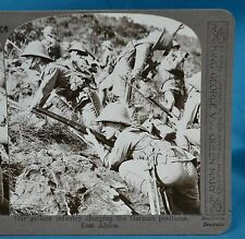 WW1 Stereoview Gallant Infantry Charging German Positions Realistic Travels