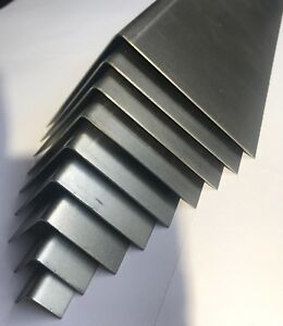Mild Steel Folded Angle Corner Protector Car Repair 1.2mm-10 Sizes & 10 length