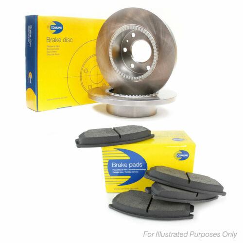 Fits Kia Soul Genuine Comline 5 Stud Rear Solid Brake Disc /& Pad Kit