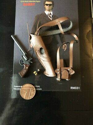 REDMAN TOYS Dirty Harry Brown Suit Ver Revolver /& Holster loose 1//6th scale