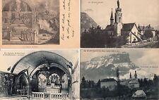 Lot 4 cartes postales anciennes MYANS notre-dame 2