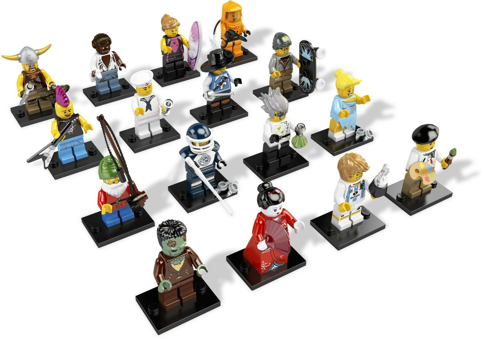 risparmia fino al 30-50% di sconto Lego Minicifras - - - SET 8804 - SERIE 4  risposta prima volta